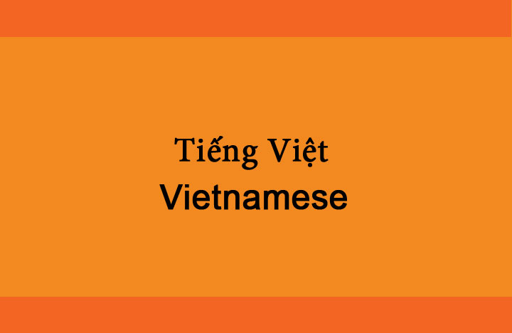 Learn to speak Vietnamese