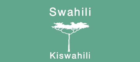 Learn to speak Swahili